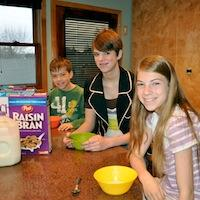 "Cereal: Not the ""Breakfast of Champions"" For This GoodNCrazy Family"