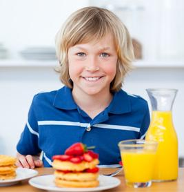 Healthy meals for students