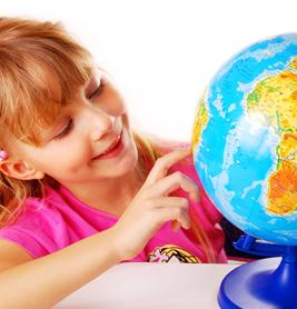 Map, globe, or atlas