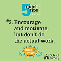 5 Quick Tips To Help Your Child With Homework