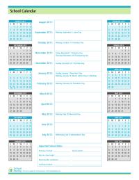 2011-12 School Calendar