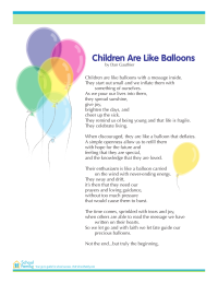 The Balloon Poem