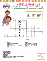 Mother S Day Worksheets Schoolfamily