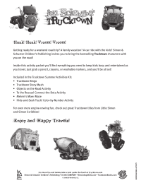 Trucktown Road Trip Games