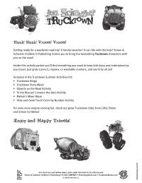 Trucktown Road Trip Games