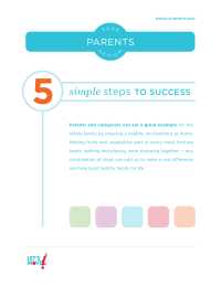 Let's Move! Take Action Parents Guide