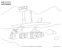 Rover Coloring Page
