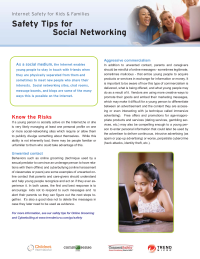 Safety Tips for Social Networking from Trend Micro