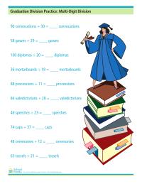 Graduation Division Practice: Multi-Digit Division