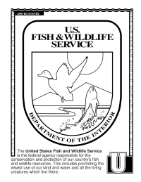 ABCs Coloring Book: U Is for United States Fish and Wildlife Service