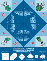 Handango Clean Hands Game