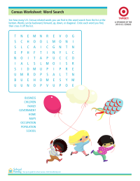 Census Word Search