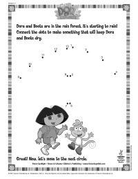Dora Connect the Dots