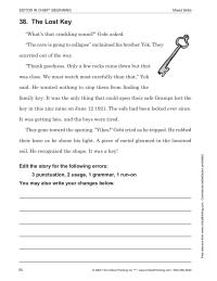Editor-in-Chief: Practice Copy Editing