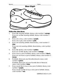 Shoe Glyph