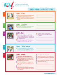 Let's Move! Family Activities Guide