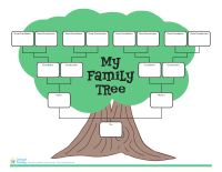 Four-Generation Family Tree