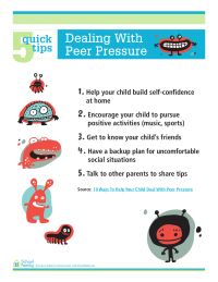 5 Quick Tips: Help Your Child Deal With Peer Pressure