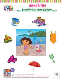 Dora: Summer Fun