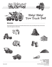 Trucktown Matching Game