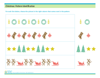 Christmas: Pattern Identification