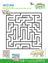 Artic Maze: Help the Cubs Find Home