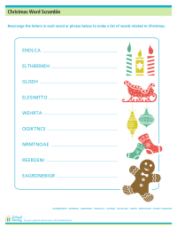 Christmas Printables - SchoolFamily