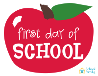 First Day of School Mini-Poster