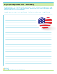 Flag Day Writing Prompt: New American Flag