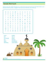ramadan worksheets schoolfamily