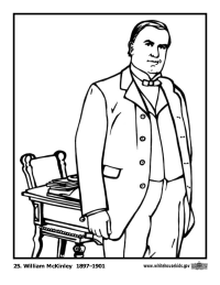 William McKinley Coloring Page