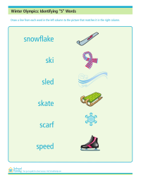 "Winter Olympics: Identifying ""S"" Words"