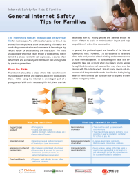 General Internet Safety Tips for Families from Trend Micro