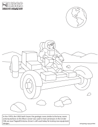 Grover Coloring Page