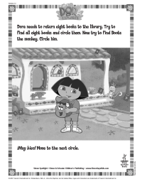 Dora Seek and Find
