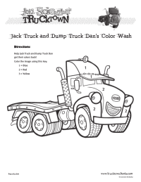 Trucktown Color by Numbers