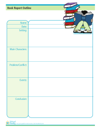 Book Report Organizer