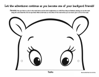 Backyardigans: Tasha Mask