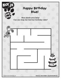 Blue's Clues Maze