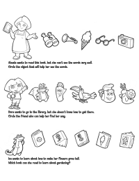 Dora: Identifying Objects