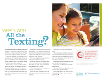Mobile Safety Guide: What's With All the Texting?