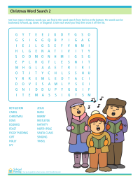 Christmas Word Search 2