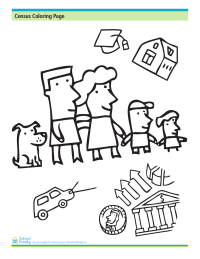 Census Coloring Page