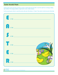 Easter Acrostic Poem