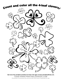 Color the Clovers