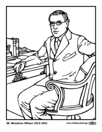 U S Presidents Coloring Pages Schoolfamily