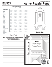Astrogeology Games Page