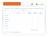 Screen Time Tracker