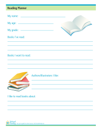 Reading Planner