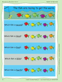 Number Order: Which Fish?